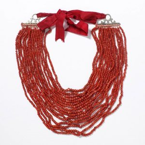 Coral Beads c.1820-1860.