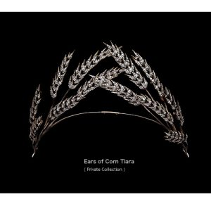 Diamond Set Ears of Corn Tiara early 19th Century. © Albion Art.