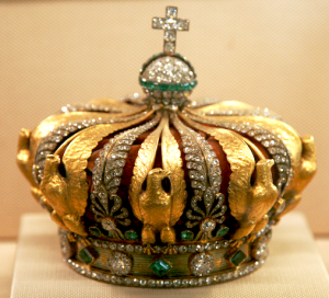 The Crown of the Empress Eugenie - Louvre, Paris France.