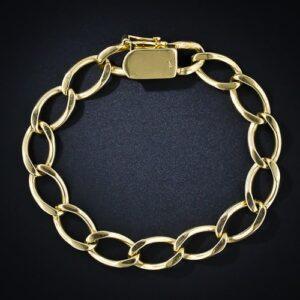 Curb Link Bracelet.