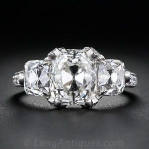 Cushion-Cut Diamond.