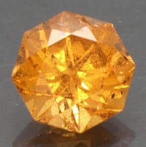 Cut Spessartite from Loliondo, Tanzania. Image by Tim Spauwen.