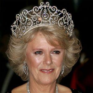 Camilla, Duchess of Cornwall, Wearing the Delhi Durbar Tiara.
