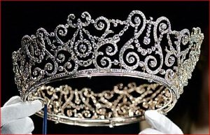 The Delhi Durbar Tiara as it Appears Today.