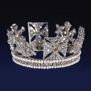 Diamond Diadem aka King George IV State Diadem.