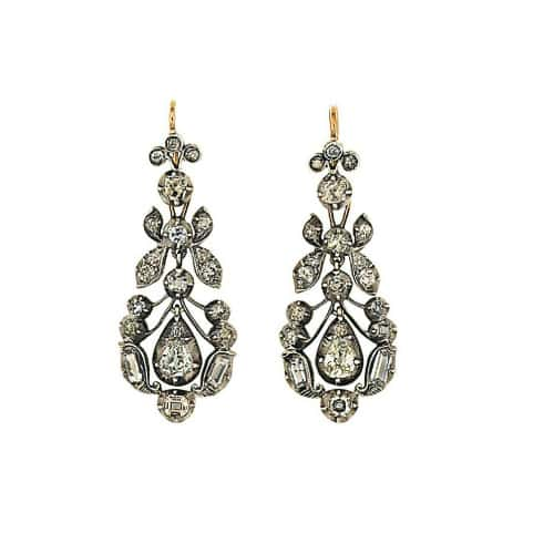 Diamond Drop Earrings 19th Century.jpg