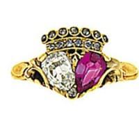 Twin Heart Ring.