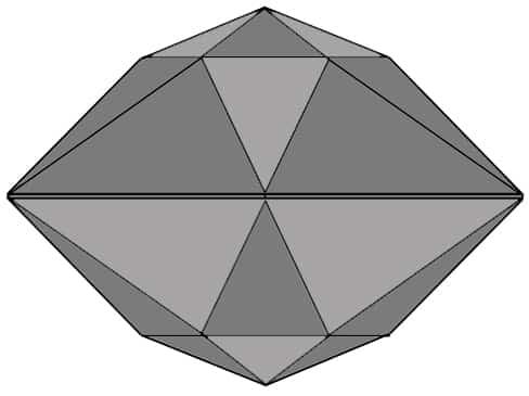 Double Rose-Cut Diamond Diagram.