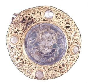 Dowgate Hill Brooch. Probably German c.1000. © Trustees of the British Museum.