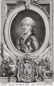 Louis-Jean Marie de Bourbon, (16 November, 1725 – 4 March, 1793)