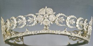 Duchess of Teck Tiara with Removable Crescent Elements.
