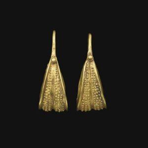 Early Bronze Age II Gold Earrings. c.2500-2000 B.C. Western Asiatic