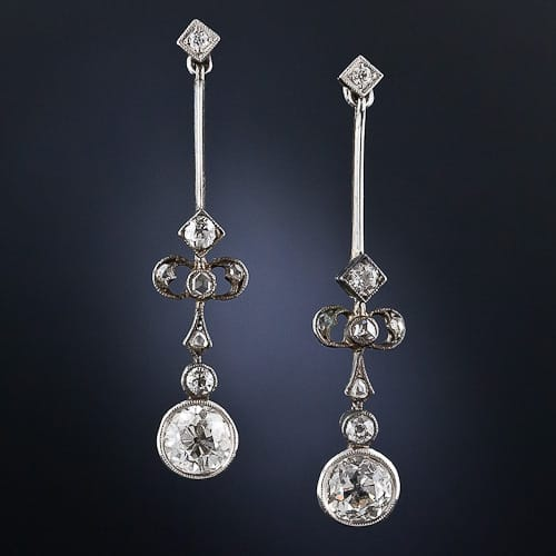Edwardian Diamond Drop Earrings.jpg