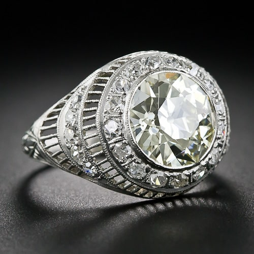 Edwardian Diamond Platinum Ring.jpg