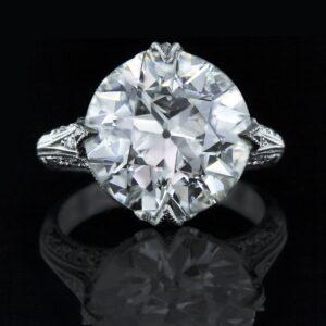 European-Cut Diamond.