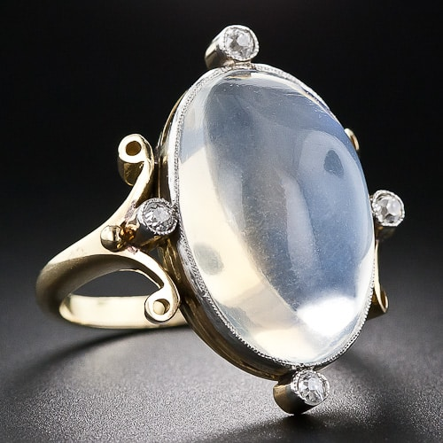 Edwardian Moonstone RIng.