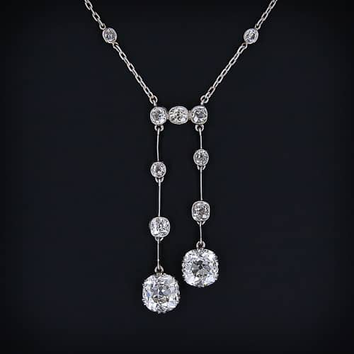 Edwardian Diamond Négligée.