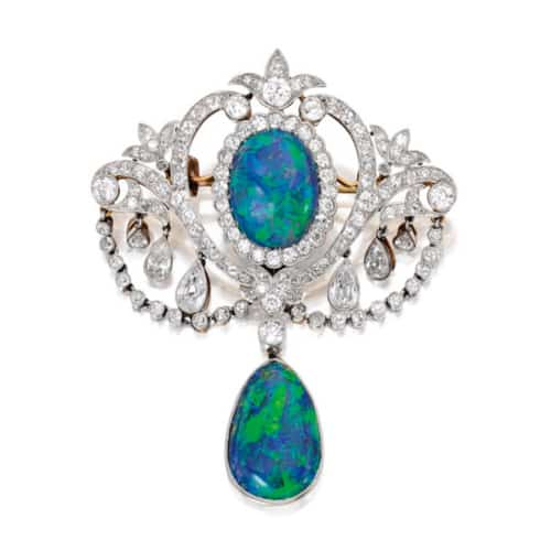 Edwardian Opal Diamond Brooch.jpg