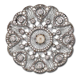 Edwardian Platinum Circle Pin.jpg