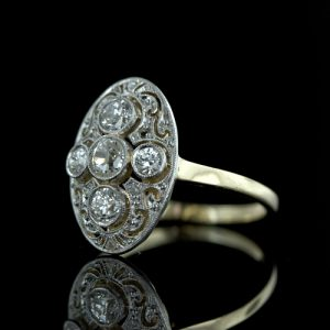 Edwardian Diamond Ring.