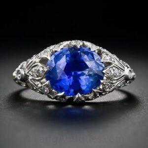 Edwardian_Sapphire_Diamond_Ring