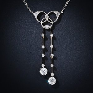 Edwardian Diamond Trefoil Négligée.