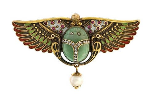 Egyptian_Revival_Scarab_Brooch