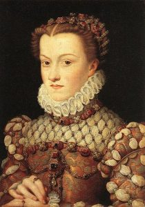 Elisabeth of Austria, Queen of France, c.1571.