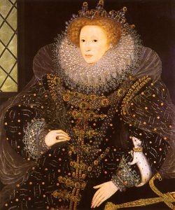 """The Ermine Portrait"" of Elizabeth I of England."