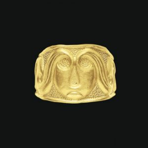 Embossed Celtic Gold Ring, c.4th Century B.C. Photo Courtesy of Christie's.