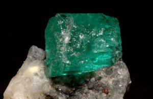 Columbian emerald specimen