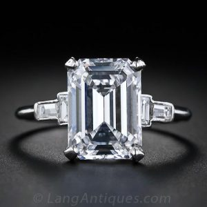 Emerald-Cut Diamond.