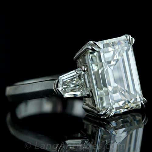 Emerald Cut Diamond Engagement RIng.jpg