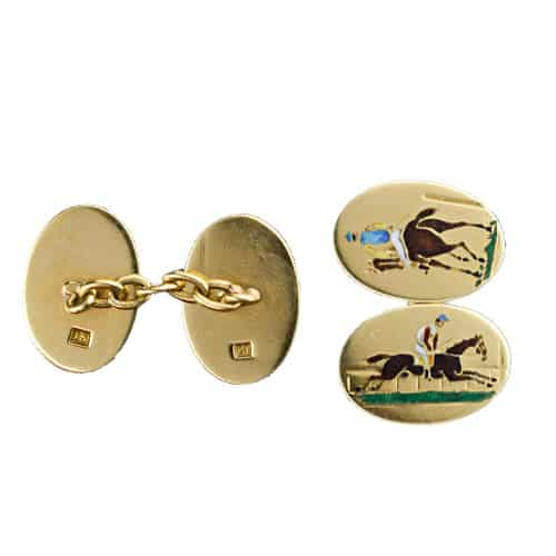 Enamel Horse Cuff Links 81.jpg