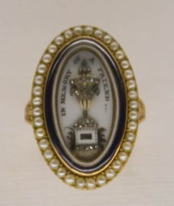 English Mourning Ring.