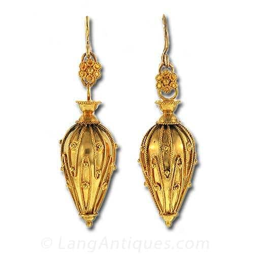 Etruscan Revival Drop Earrings.jpg