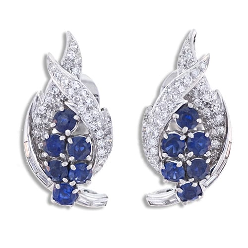 Fifties Sapphire Diamond Earrings.jpg