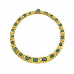 Flato Emerald Necklace, Zona Rosa Era, c.1980 Photo Courtesy of Christie's.