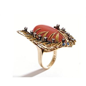 Flato Fire Opal Ring Circa 1980s. Photo Courtesy of Christie's.
