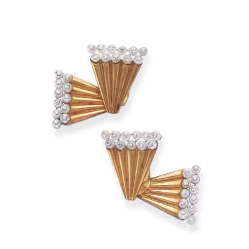 Flato Retro Diamond Pearl Earrings.jpg