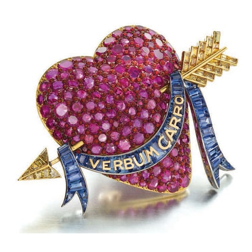 Flato_Ruby_Heart_Brooch