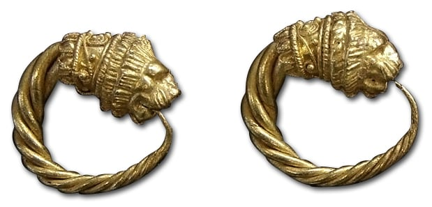 Gallo-Roman_Lion_Earrings