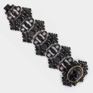 Geiss Ironworks Gothic Revival Bracelet. Photo Courtesy of Christie's.
