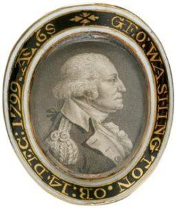 George Washington Memorial Ring c.1800.