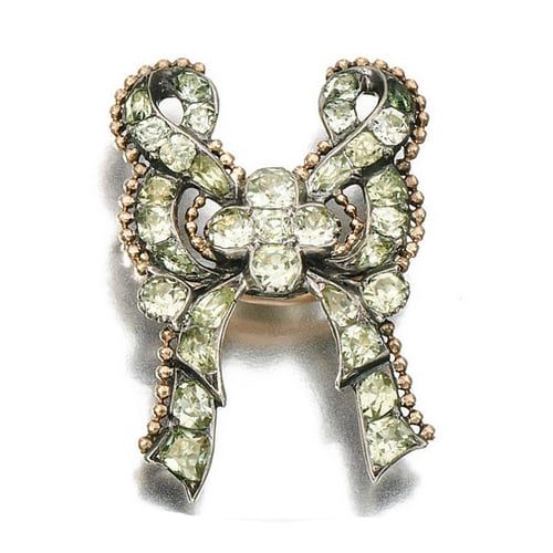 Georgian Chrysoberyl Bow Brooch.jpg