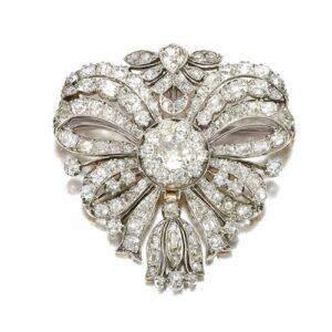 Diamond Flower Brooch c.1780-1800.