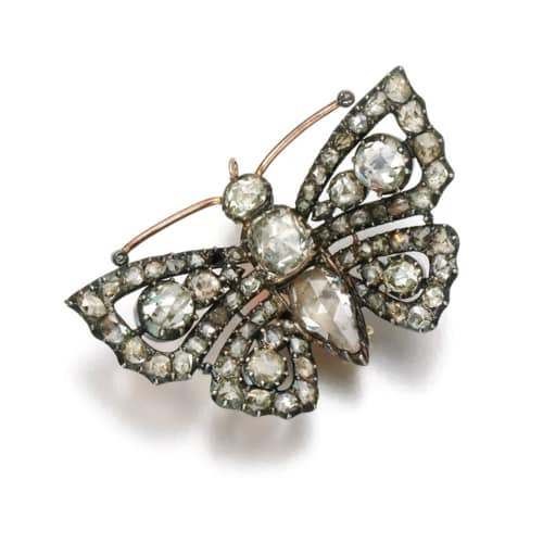Georgian Diamond Butterfly Brooch.jpg
