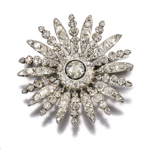 Georgian Diamond Flower Brooch.jpg