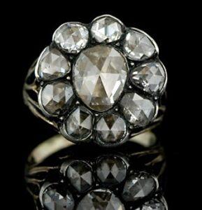 Georgian Rose-Cut Diamond Ring.