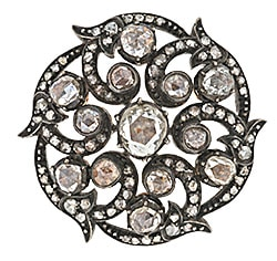 Georgian_Diamond_Swirl_Brooch